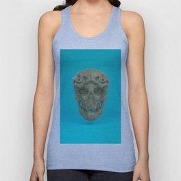 Skull Coral Reef Unisex Tank Top