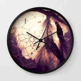Fånga en dröm Wall Clock