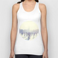 istanbul Tank Tops featuring White İstanbul by josemanuelerre