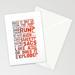 Does It Explode? Stationery Cards