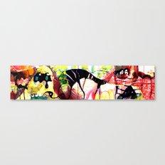 concertina 2  Canvas Print