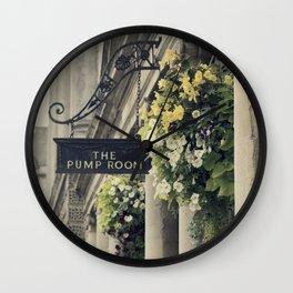The Pump Room Wall Clock