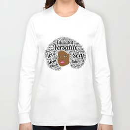 Black History Month African American Black Pride Shirt Light Long Sleeve T-shirt