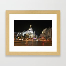 Madrid. Framed Art Print
