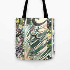 faded 3 Tote Bag