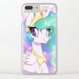 Princess Celestia Clear iPhone Case