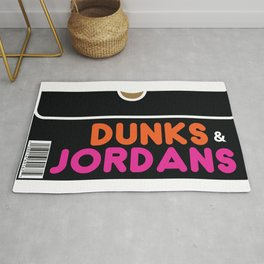 Dunks & Jordans Rug