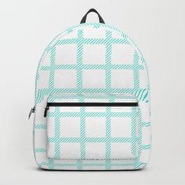 Turqu Check Backpack