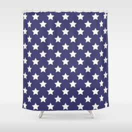 Patriotic Pattern   United States Of America USA Shower Curtain