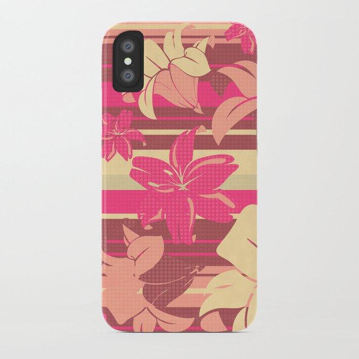 Lilium 03 iPhone Case