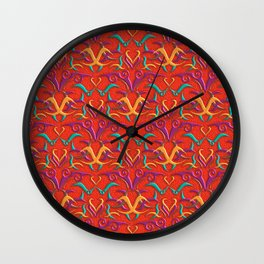 Tribal Pattern 2 Wall Clock