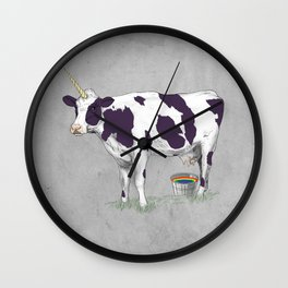 UNICOWRN Wall Clock