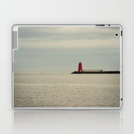 Red Lighthouse Laptop & iPad Skin