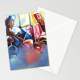 Local African Music Artist Stationery Cards