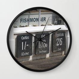 Fishmongers Wall Clock