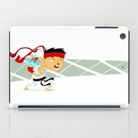 street fighter iPad Cases featuring STREET FIGHTER - RYU by mirojunior