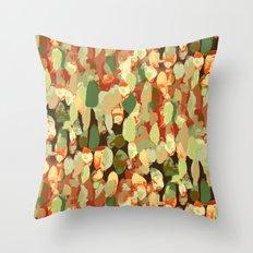 Splotch Dots Throw Pillow