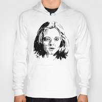 silence of the lambs Hoodies featuring Clarice Starling Sketch - The Silence of the Lambs by Soyarts