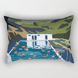 Seljavallalaug Rectangular Pillow