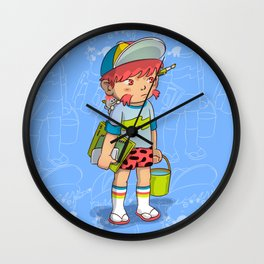 pianting outdoor Wall Clock