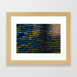 Code Master (Color) Framed Art Print