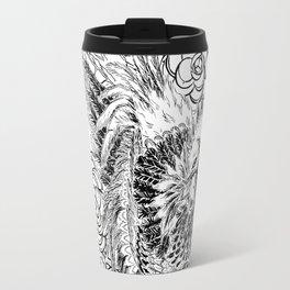 Rooster & Camellia Hat Travel Mug