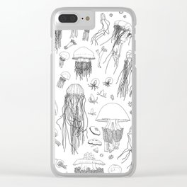 A Compilation – Jellyfish Clear iPhone Case