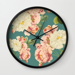 Flora temptation Wall Clock