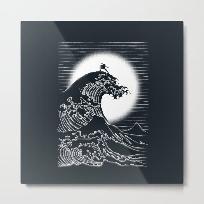 Waterbending Metal Print