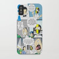 gta iPhone & iPod Cases featuring GTA - Comic strip by Azlee Mahat