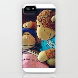 "Monkey ""Sick"" iPhone Case"