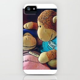 "Monkey ""Sick"" iPhone Case"