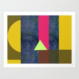 FIGURAL N9 Art Print