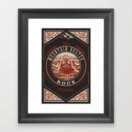 Mountain Buster Bock | FFXIV Framed Art Print