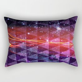 In SpaceS BETWEEN Rectangular Pillow
