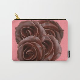Chocolate, Roses Carry-All Pouch