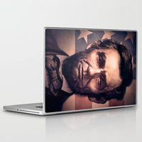 lincoln Laptop & iPad Skins featuring Lincoln by Dominick Saponaro