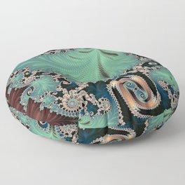Azure - Fractal Art Floor Pillow