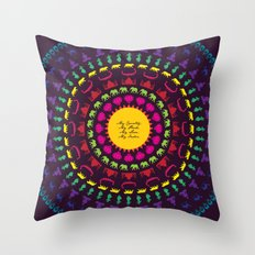 My India.  Throw Pillow
