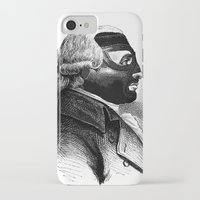wrestling iPhone & iPod Cases featuring WRESTLING MASK 5 by DIVIDUS