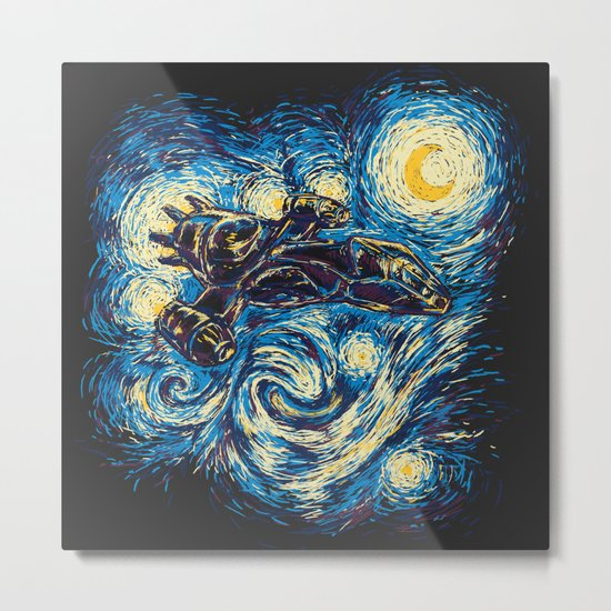 Starry Flight (Serenity) Metal Print