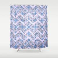 bleach Shower Curtains featuring Beach Bleach by Truly Juel