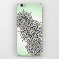 Heart Moon Star Mandala iPhone & iPod Skin