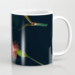 Red Carnations | Real Flowers, Moody Art, Soft Grunge, Dark Art, Gothic Home Decor, Floral Photog Coffee Mug