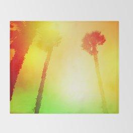 Palms Throw Blanket