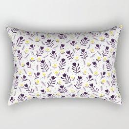 tiptoe through the tulips ... Rectangular Pillow