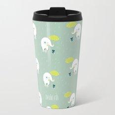 Rainy Elephant Travel Mug