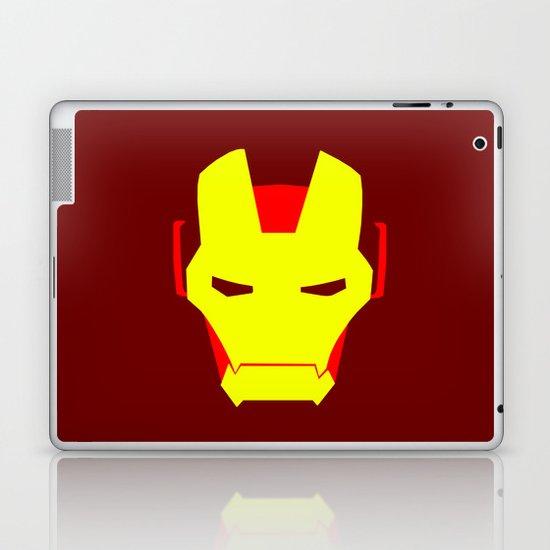 Minimalist Iron Man Laptop & iPad Skin