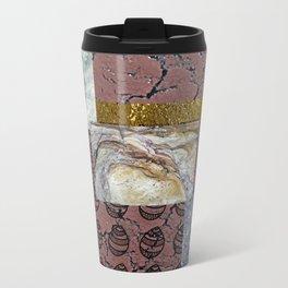 textures and doodles 1 Metal Travel Mug