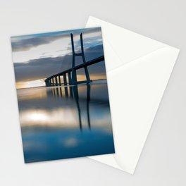 Amazing Hong Kong Zhuhai Macau Bridge Across Pearl River China Asia Ultra HD Stationery Cards